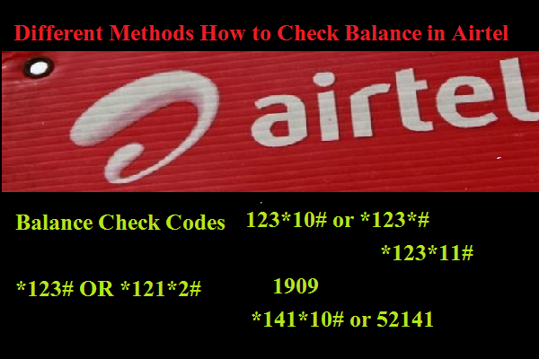How To Check Airtel Balance 【All Airtel USSD Codes】