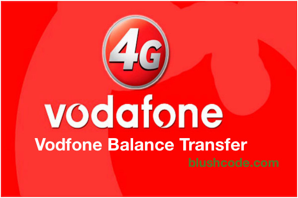 Vodafone Balance Transfer USSD Codes [Main Balance & Data ]