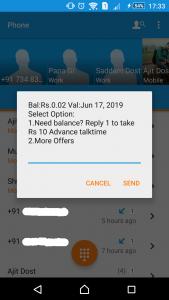 check idea net balance