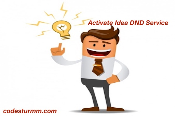 Activate And Deactivate Idea DND Service 🤔 For Prepaid And Postpaid In 2018
