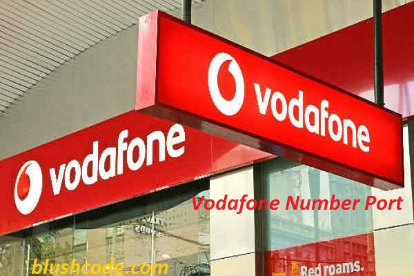 vodafone number port