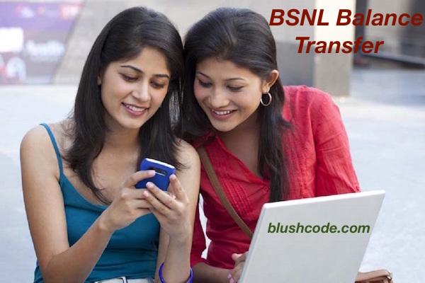 bsnl balance transfer